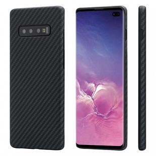 Чехол накладка для Samsung Galaxy S10 Plus (Pitaka MagCase KS1001S) - Чехол для телефона