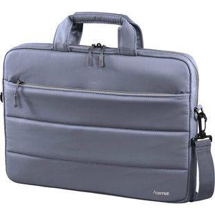 """Сумка для ноутбука 14.1"""" (Hama Toronto 00101910) (серый, голубой) - Сумка для ноутбука"""