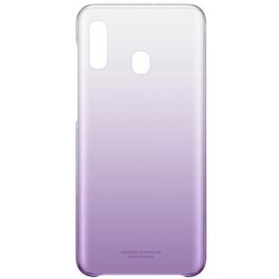 Чехол-накладка для Samsung Galaxy A20 (Gradation EF-AA205CVEGRU) (фиолетовый) - Чехол для телефонаЧехлы для мобильных телефонов<br>Чехол плотно облегает корпус и гарантирует надежную защиту от царапин и потертостей.