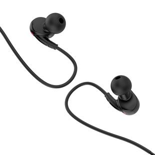 Hoco ES19 (черный) - НаушникиНаушники и Bluetooth-гарнитуры<br>Наушники Hoco ES19 удовлетворят музыкальные потребности любого меломана, ведь они имеют компактный размер, малый вес и непревзойденную гибкость. Дизайн наушников выше всяких похвал, а сами они сделаны из проверенных временем материалов.