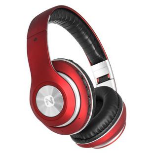 Nobby Expert L-950 (NBE-BH-42-74) (красный) - НаушникиНаушники и Bluetooth-гарнитуры<br>Беспроводная стереогарнитура, BT 4.2, накладные с микрофоном, AUX, чехол, 32Ом, 110Дб, 900мАч, время работы до 48 часов, красные