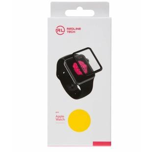Защитное стекло для Apple Watch S4 44mm (Tempered Glass YT000017903) (Full screen 3D, FULL GLUE, черный с рамкой) - Защитное стекло, пленка для умных часовЗащитные стекла и пленки для умных часов<br>Защитное стекло изготовлено из высококачественных материалов и идеально подходит для данной модели устройства.