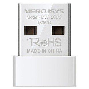 Wi-Fi адаптер Mercusys MW150US - Wifi, Bluetooth адаптерОборудование Wi-Fi и Bluetooth<br>Wi-Fi адаптер Mercusys MW150US - Wi-Fi адаптер, USB, 802.11n, MIMO, 150 Мбит/с
