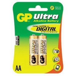 Алкалиновые батарейки АА (GP Ultra 15AU-CR2) (2 шт.) - Батарейка, аккумуляторБатарейки и аккумуляторы<br>С батарейкой GP Ваше цифровое устройство проработает дольше и не подведет в самый ответственный момент.
