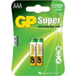 Батарейки AAА (GP 24A(CR2)) (2 шт.) - Батарейка, аккумуляторБатарейки и аккумуляторы<br>Являются идеальным источником энергии для устройств.