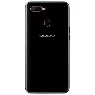 OPPO A5s (черный) - Мобильный телефонМобильные телефоны<br>Смартфон OPPO A5s - тип: смартфон, android, диагональ экрана: 6quot; и больше, разрешение экрана: 1520?720, 4G LTE, 2 SIM-карты, память: 32 Гб, слот для карты памяти, оперативная память: 3 Гб, емкость аккумулятора: 3500-4499 мА?ч, количество основных камер: 2, год анонсирования: 2019