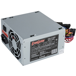Exegate ATX-AB400 400W с кабелем питания с защитой от выдергивания - Блок питанияБлоки питания<br>Блок питания, 400 Вт, нет PFC, 1 вентилятор (80 мм), кабель 220V с защитой от выдергивания