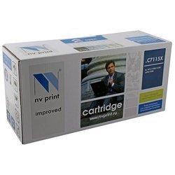 Картридж для HP LaserJet 1000, 1005, 1200, 1220, 3300, 3380 (NV Print C7115X) (черный) - Картридж для принтера, МФУ