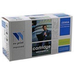 Картридж для HP LaserJet P2030, P2035, P2035n, P2050, P2055, P2055d, P2055dn, P2055x (NV Print CE505A) (черный) - Картридж для принтера, МФУ