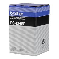 Термопленка для Brother FAX-1150, FAX-1200P, FAX-1250, FAX-1350, FAX-1450, FAX-1550, FAX-1750, FAX-1850, FAX-1950 (PC-104RF) (4 шт) - Термопленка для принтера, МФУ