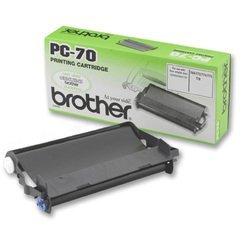 Картридж для Brother FAX-T72, FAX-T74, FAX-T76, FAX-T78, FAX-T7 Plus, FAX-T92, FAX-T94, FAX-T96, FAX-T98 (PC-70) (черный) - Картридж для принтера, МФУ