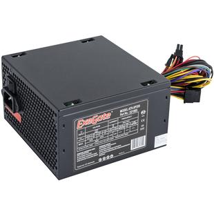 Exegate ATX-XP350 350W с кабелем питания с защитой от выдергивания - Блок питанияБлоки питания<br>Блок питания, 350 Вт, нет PFC, 1 вентилятор (120 мм), кабель 220V с защитой от выдергивания