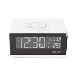 Часы-будильник MOMAX QC1NW - Часы