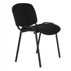 Бюрократ Виси С-11 (черный) - Стул офисный, компьютерныйКомпьютерные кресла<br>Бюрократ Виси С-11 - стул для посетителей, черный каркас, черная ткань С-11, без подлокотников, регулировка спинки и высоты отсутствует. Ограничение по весу 100 кг.