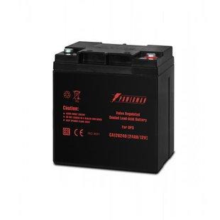 Powerman CA12240 PM/UPS - Батарея для ибпАккумуляторные батареи<br>Powerman CA 12240 PM/UPS - аккумулятор, 12 В, 24 Ач, клеммы – M1 (O 14 мм; болт 6 мм под ключ 10 мм)