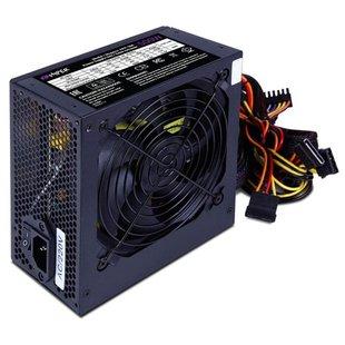 Блок питания HIPER HPP-500 500W BOX - Блок питанияБлоки питания<br>Блок питания HIPER HPP-500 500W - 500 Вт, активный PFC, 1 вентилятор (120 мм)