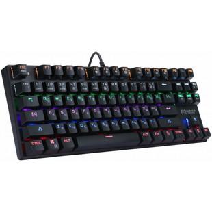 Клавиатура игровая Harper HG Tango GKB-P100 - КлавиатураКлавиатуры<br>Клавиатура, подсветка клавиш, механическая, USB, цвет чёрный