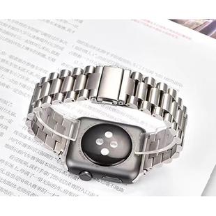 Ремешок для Apple Watch 2, 3, 4 38, 40mm (COTEetCI W26 WH5239-TS) (серебристый) - Ремешок для умных часов