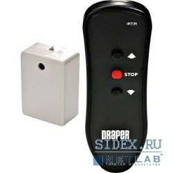 экраны Draper Блок + Пульт ДУ ИК Euroscreen IR remote control Kit with euro plug
