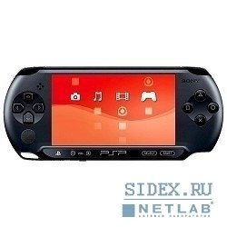 Игровые приставки Playstation PSP - E1008 Street Base Pack Black + Карта памяти Memory Stick PRO DUO 4GB MARK2 (SO