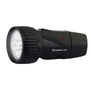 Фонарь Ultraflash LED3850 - ФонарьФонари<br>Ni-Cd аккумулятор 1.2 вольт 0.6 А*ч, дистанция освещения — до 20 м, 1 режим работы, время работы — до 3 часов, открепительная крышка сетевой вилки, IP22.