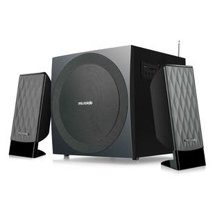Microlab M-300BT (черный) - Колонка для компьютераКомпьютерная акустика<br>Компьютерная акустика 2.1, суммарная мощность 38 Вт, диапазон частот 40 - 20000 Гц.