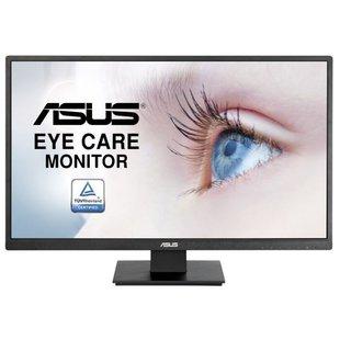 Монитор ASUS VA279HAE (черный) - МониторМониторы<br>ЖК (TFT *VA) 27quot;, широкоформатный, 1920x1080, LED-подсветка, 300 кд/м2, 3000:1, 6 мс, 178°/178°, HDMI, VGA.