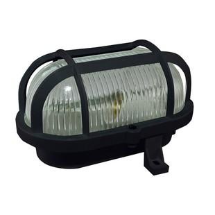 TDM НБП 02-60-004.03У (черный) - СветильникНастенно-потолочные светильники<br>Светильник, мощность 60Вт, цоколь E27, материал: стекло/пластик, степень зашиты IP54.