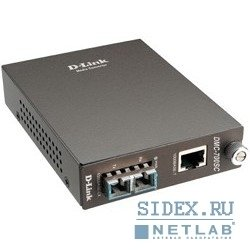 Медиаконвертер D-Link (DMC-700SC/B8A) - Медиаконвертер, трансиверМедиаконвертеры, трансиверы<br>Медиаконвертер с 1 портом 1000Base-T и 1 портом 1000Base-SX с разъемом SC для многомодового оптического кабеля (до 550 м)