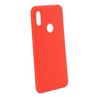 Чехол-накладка для Huawei Honor Y6 2019 (Red Line Ultimate YT000017724) (красный) - Чехол для телефонаЧехлы для мобильных телефонов<br>Чехол плотно облегает корпус и гарантирует надежную защиту от царапин и потертостей.