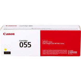 Картридж для Canon MF742, 744, 746, LBP663, 664 (055 Y 3013C002) (желтый) - Картридж для принтера, МФУ