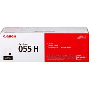 Картридж для Canon MF742, 744, 746, LBP663, 664 (055 H 3020C002) (черный) - Картридж для принтера, МФУ