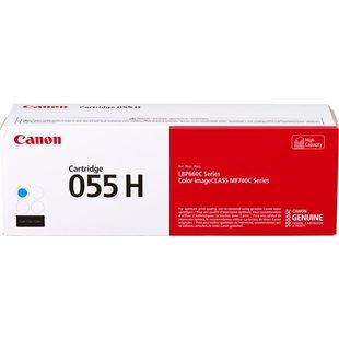Картридж для Canon MF742, 744, 746, LBP663, 664 (055 H 3019C002) (голубой) - Картридж для принтера, МФУ