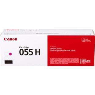 Картридж для Canon MF742, 744, 746, LBP663, 664 (055 H 3018C002) (пурпурный)  - Картридж для принтера, МФУ
