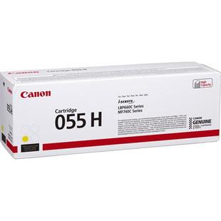 Картридж для Canon MF742, 744, 746, LBP663, 664 (055 H 3017C002) (желтый) - Картридж для принтера, МФУ