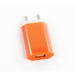 Универсальное сетевое зарядное устройство, адаптер 1хUSB, 1А (Liberti Project R0003918) (оранжевый) - Сетевой адаптер 220v - USB, ПрикуривательСетевые адаптеры 220v - USB, Прикуриватель<br>Аксессуар для зарядки устройства от сети переменного тока.