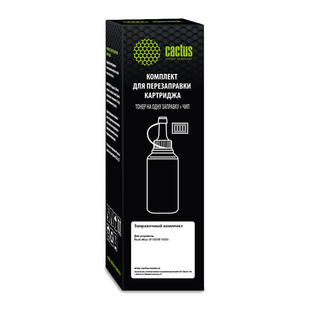 Тонер для Ricoh Aficio SP 150 (Cactus CS-RK-SP150HE) (черный, с чипом) (80г) - Тонер для принтера