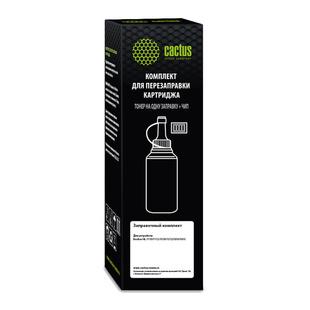 Тонер для Brother HL-1110, 1112, 1510, 1512, 1810, 1815 (Cactus CS-RK-TN1075) (черный, с чипом) (80г) - Тонер для принтера