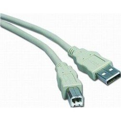 Кабель USB 2.0 AM/BM 3м (Gembird CC-USB2-AMBM-10) - Кабель, переходникКабели, шлейфы<br>Gembird CC-USB2-AMBM-10 - кабель с разъемами USB 2.0, тип коннектеров: A - B, длина кабеля 3м.