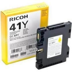 Картридж для Ricoh Aficio SG 3110DN, 3110DNw, 3110SFNw, 7100DN, K3100DN (GC41Y 405764) (желтый) - Картридж для принтера, МФУ