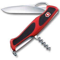 Нож перочинный Victorinox RangerGrip 63 0.9523.MC 130мм 5 функций красно-чёрный - Victorinox