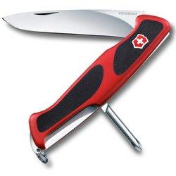 Нож перочинный Victorinox RangerGrip 53 0.9623.C 130мм 5 функций красно-чёрный - VictorinoxVictorinox<br>Тип Нож перочинный, Брэнд VICTORINOX, PatrNumber/Артикул Производителя 0.9623.C, Модель RangerGrip 53 0.9623.C, Особенности/доп. информация 130мм 5 функций красно-чёрный<br>, EAN код 7611160044556
