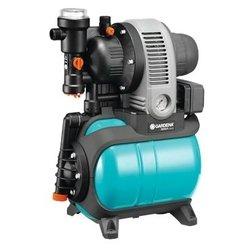 GARDENA 3000/4 eco Classic - Насос бытовойВодяные насосы<br>GARDENA 3000/4 eco Classic - поверхностная насосная станция, глубина погружения 8 м, качает 2.8 куб. м/час, мощность 650 Вт, <br>только для чистой воды, <br>горизонтальная установка, <br>бесшумный двигатель