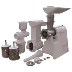 ЛЕПСЕ Гамма-7-01 (комплект 1) - МясорубкаМясорубки<br>ЛЕПСЕ Гамма-7-01 (комплект 1) - мощность 130 Вт, перерабатывает 0.6 кг/мин, насадка-терка, насадка для шинковки, насадка для нарезки печенья, корпус из пластика
