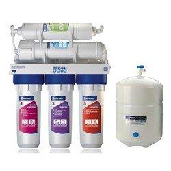 Фильтр Барьер Профи ОСМО 100 - Фильтр, умягчительФильтры и умягчители для воды<br>5-ти ступенчатый обратноосмотический проточный, накопительная емкость 8 литров, ресурс комплекта фильтроэлементов 5000 литров.