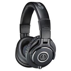 Audio-Technica ATH-M40x (черный) - НаушникиНаушники и Bluetooth-гарнитуры<br>Audio-Technica ATH-M40x - мониторные наушники закрытого типа, импеданс 35 Ом, чувствительность 96 дБ/мВт, диаметр мембраны 40 мм, разъём mini jack 3.5 mm, длина провода 3 м, вес 240 г.