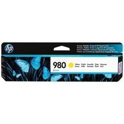 Картридж для HP Officejet Enterprise X585z, X585dn, X585f, X555dn, X555xh (D8J09A №980) (желтый)  - Картридж для принтера, МФУКартриджи<br>Совместим с моделями: HP Officejet Enterprise X585z, HP Officejet Enterprise X585dn, HP Officejet Enterprise X585f, HP Officejet Enterprise X555dn, HP Officejet Enterprise X555xh.