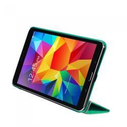 Чехол-подставка для планшета Samsung Galaxy Tab 4 8 (IT BAGGAGE ITSSGT4801-6) (бирюзовый с тонированной задней стенкой) - Чехол для планшетаЧехлы для планшетов<br>Чехол-подставка IT BAGGAGE полностью закрывает корпус планшета и отлично справляется с защитой от царапин и пыли.