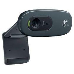 Logitech HD Webcam C270 (960-000636) (черный) - Веб камераВеб-камеры<br>Компактная HD веб-камера Logitech HD Webcam C270 позволяет делать видеовызовы в формате HD 720, оснащена встроенным микрофоном с технологией RightSound