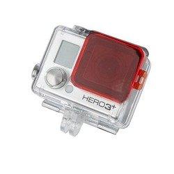 Фильтр для Gopro HERO 3+ Lumiix GP123 (красный) - АксессуарАксессуары для экшн-камер<br>Lumiix GP123 - рамка-фильтр для GoPro Hero 3+ используется для подводной съемки в голубой воде. Цепляется непосредственно на водонепроницаемый бокс камер.